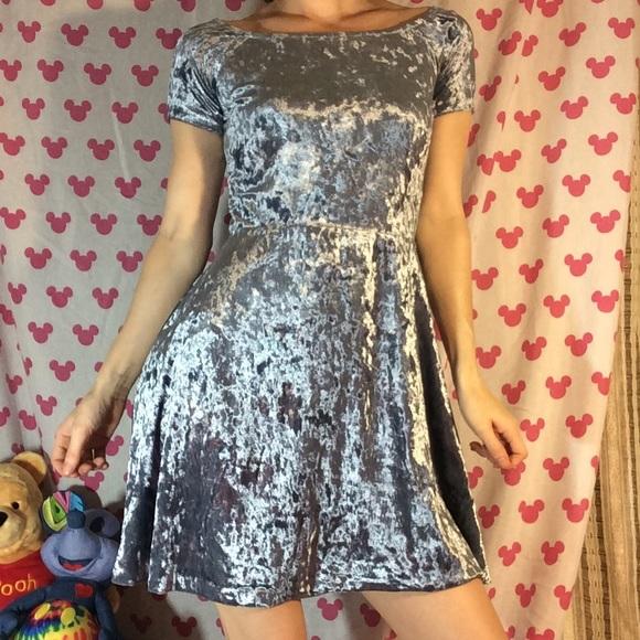 love...ady Dresses & Skirts - Cinderella Inspiration Light Blue VELVET Dress